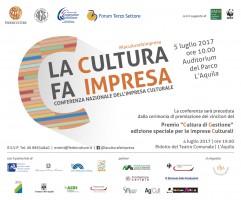 Invito Conferenza Impresa Culturale