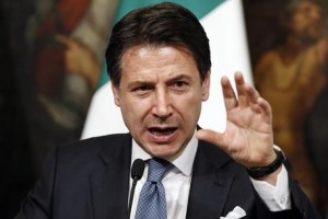 Italy, press conference after a Cabinet